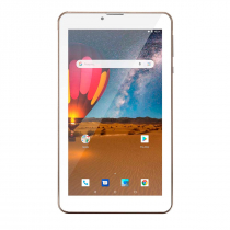 TABLET M7 3G PLUS TELA ''7'' DUAL CHIP QUAD CORE 1GB MEMÓRIA 16GB DOURADO NB306 - 1