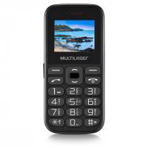 CELULAR VITA TELA 1.8 DUAL CHIP 2G USB BLUETOOTH PRETO - P9120 - 1