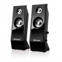 CAIXA DE SOM SHADOW 20 USB 8W RMS PRETO SP091 - 1