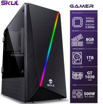 COMPUTADOR GAMER 1000 - ATHLON DUAL CORE 3000G 3.5GHZ 8GB DDR4 HD 1TB GT 1030 2GB FONTE 500W PFC ATIVO - 1