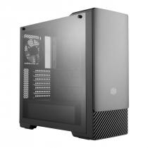 GABINETE MASTERBOX E500 MIDTOWER PAINEL DESLIZANTE COM ODD PRETO - MCB-E500-KG5N-S00 - 1