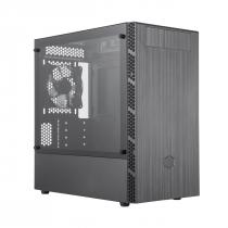 GABINETE MASTERBOX MB400L MINI TOWER COM ODD PRETO - MCB-B400L-KG5N-S00 - 1