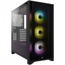 GABINETE ATX MID TOWER - 4000 SERIES - 4000X RGB BLACK - CC-9011204-WW - 1
