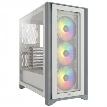 GABINETE ATX MID TOWER - 4000 SERIES - 4000X RGB WHITE - CC-9011205-WW - 1