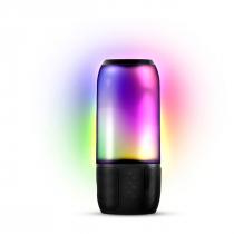 CAIXA DE SOM BLUETOOTH//USB/SD LIGHT SHOW 8W COM BATERIA E ILUMINAÇÃO - 1