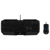 KIT TECLADO E MOUSE USB GAMER GK1000 PRETO - 1