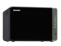 SERVIDOR DE DADOS NAS INTEL QUAD CORE 2.0GHZ - 4GB - 6 BAIAS SEM DISCO - TS-653D-4G-US - 1