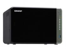 SERVIDOR DE DADOS NAS INTEL QUAD CORE 2.0GHZ - 4GB - 6 BAIAS SEM DISCO - TS-653D-4G-US - 1