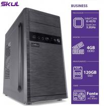 COMPUTADOR BUSINESS B500 - I5 4570 3.2GHZ 4GB DDR3 SSD 120GB HDMI/VGA FONTE 300W - 1