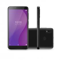 """CELULAR SMARTPHONE MULTI G 4G 32GB TELA 5.5"""" OCTA CORE SENSOR DE DIGITAIS P9132 PRETO - 1"""