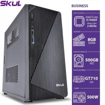 COMPUTADOR BUSINESS B500 - I5 9400F 2.9GHZ MEM 8GB DDR4 HD 500GB GT 710 2GB FONTE 500W - 1