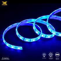 FITA DE LED VX GAMING AZUL COM CONEXÃO MOLEX 60 PONTOS DE LED 1 METRO - LAM1 - 1