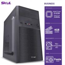 COMPUTADOR BUSINESS B300 - I3 8100 3.6GHZ MEM 4GB DDR4 SEM HD/SSD HDMI/VGA FONTE 200W - 1
