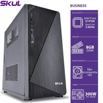 COMPUTADOR BUSINESS B300 - I3 9100 3.6GHZ 9ªGER MEM 8GB DDR4 SEM HD/SSD HDMI/VGA FONTE 300W - 1
