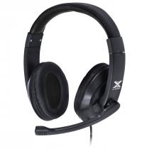 FONE HEADSET GAMER VX GAMING V BLADE II USB COM MICROFONE RETRÁTIL E AJUSTE DE HASTE PRETO - GH204 - 1