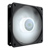 FAN PARA GABINETE SICKLEFLOW 120MM LED WHITE - MFX-B2DN-18NPW-R1 - 1
