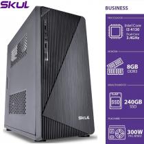 COMPUTADOR BUSINESS B300 - I3 4130 3.4GHZ 8GB DDR3 SSD 240GB HDMI/VGA FONTE 300W - 1