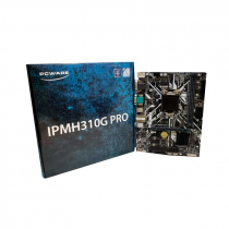 PLACA MAE IPMH310G PRO 2XDDR4 2400MHZ/1XPCIEX16/1XSERIAL/4XSATA3/2XUSB3.0/2XUSB2.0/1XHDMI/1XVGA/1DVI-D LGA 1151 - 1