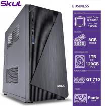 COMPUTADOR BUSINESS B700 - I7 9700F 3.6GHZ MEM 8GB DDR4 HD 1TB SSD 120GB GT 710 2GB FONTE 500W - 1