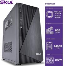 COMPUTADOR BUSINESS B500 - I5 4570 3.2GHZ 8GB DDR3 SSD 240GB HDMI/VGA FONTE 300W - 1