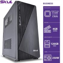 COMPUTADOR BUSINESS B300 - I3 3220 3.3GHZ MEM 4GB DDR3 SSD 120GB HDMI/VGA FONTE 250W - 1