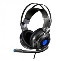 FONE HEADSET GAMER P2STEREO E USB H200 PRETO - 1