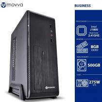 COMPUTADOR LITE INTEL DUAL CORE J1800 2.41GHZ MEMÓRIA 8GB HD 500GB LINUX FONTE 275W GABINETE SLIM LINUX - 1