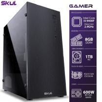 COMPUTADOR GAMER 5000 - I5 9400F 2.9GHZ 9ª GER. SEM VÍDEO INTEGRADO MEM. 8GB DDR4 HD 1TB FONTE 600W - SEM PPB - 1