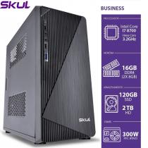 COMPUTADOR BUSINESS B700 - I7 8700 3.2GHZ 8ªGER MEM 16GB DDR4 SSD 120GB HD 2TB HDMI/VGA FONTE 300W - 1