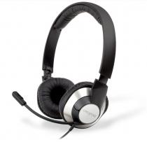 HEADSET - CHATMAX HS720 - PLUG'N PLAY - CONFORTÁVEL - MICROFONE C/ CANC. RUÍDO - USB - PRETA - 51EF0410AA004 - 1