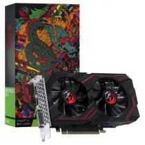 PLACA DE VIDEO NVIDIA GEFORCE GTX 1650 4GB GDDR6 128 BITS DUAL-FAN GRAFFITI SERIES - PA1650412820DR6 - 1
