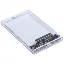 """CASE EXTERNO PARA HD 2.5"""" USB 3.0 ACRÍLICO - CH250AA - 1"""