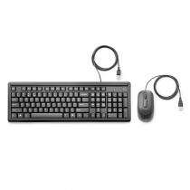 KIT TECLADO + MOUSE COM FIO USB 160 6HD76AA#AC4 - 1