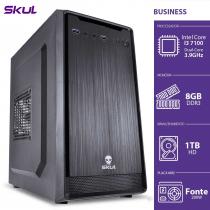 COMPUTADOR BUSINESS B300 - I3 7100 3.9GHZ MEM 8GB DDR3 HD 1TB HDMI/VGA FONTE 200W - 1