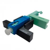 FAST CONNECTOR SC/UPC COM CLIP E TRAVA INTERNA 3D-L01002 EMBALAGEM C/100 - 1