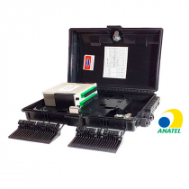 CAIXA CTO MONTADA C/ SPLITTER BOX 1X16 APC GMF-OF03001-16C-16P - 1