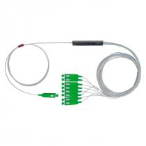 MINI SPLITTER ÓPTICO PLC-SC APC 1X8 NKLT-NMPL108110110441 (EMB C/ 2 UNID) - 1