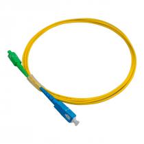CORDAO FIBRA OPTICA SIMPLEX SC (APC) X SC (UPC) MONO MODO 2,5 M NKLT-SASU1B2022.250C - 1