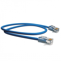 PATCH CORD U/UTP CAT.5E CMX T568A/B 0.5M AZUL - 1