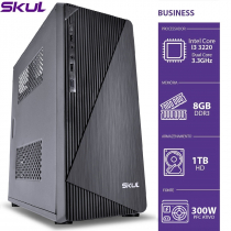 COMPUTADOR BUSINESS B300 - I3 3220 3.3GHZ 8GB DDR3 HD 1TB HDMI/VGA FONTE 300W PFC ATIVO - SEM PPB - 1
