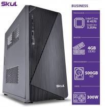 COMPUTADOR BUSINESS B500 - I5 4570 3.2GHZ 4GB DDR3 HD 500GB HDMI/VGA FONTE 300W - SEM PPB - 1
