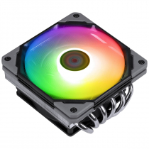 COOLER PARA PROCESSADOR - NÓTUS LP ARGB - 6 HEATPIPES - LOW PROFILE (INTEL/AMD) - TDP 130W - 120MM - PCYNTLPARGB - 1