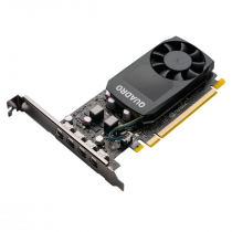 PLACA DE VIDEO NVIDIA QUADRO - P620 2GB GDDR5 128 BITS (4X MDP) - VCQP620V2-PB - 1