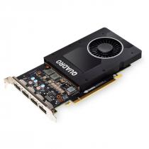 PLACA DE VIDEO NVIDIA QUADRO - P2200 5GB GDDR5 160 BITS (4X DP) - VCQP2200-BLK - 1
