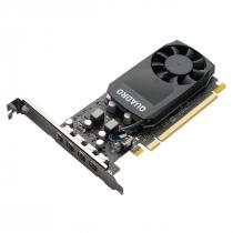 PLACA DE VIDEO NVIDIA QUADRO - P1000 4GB GDDR5 128 BITS (4X MDP) - VCQP1000V2-PB - 1