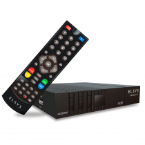 RECEPTOR DE TV DIGITAL VIA SATELITE SATMAX PLUS FULL HD SINAL SAT HD REGIONAL ETRS55 - 1