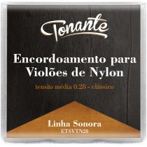 ENCORDOAMENTO PARA VIOLÃO DE NYLON - CLÁSSICO - SONORA - TENSÃO NORMAL 0.28 - ETSVTN28 - 1