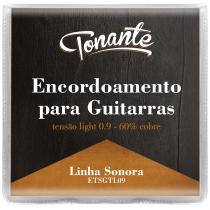 ENCORDOAMENTO PARA GUITARRA - SONORA - TENSÃO LIGHT 0.9 - 60% COBRE - ETSGTL09 - 1