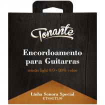 ENCORDOAMENTO PARA GUITARRA - SONORA SPECIAL - TENSÃO LIGHT 0.9 - 80% COBRE - ETSSGTL09 - 1