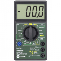 MULTIMETRO DIGITAL COM VISOR GRANDE - DT860B - 1